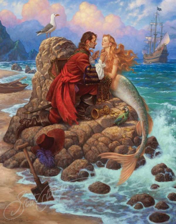Pirates and Mermaid Art