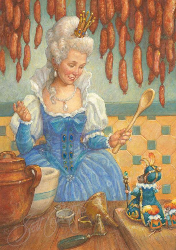 Nutcracker Paintings The Art Of Scott Gustafson