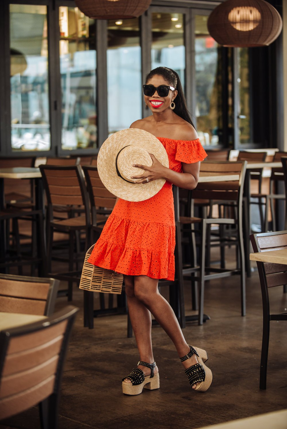 red two piece set dallas fashion blogger stephanie taylor jackson