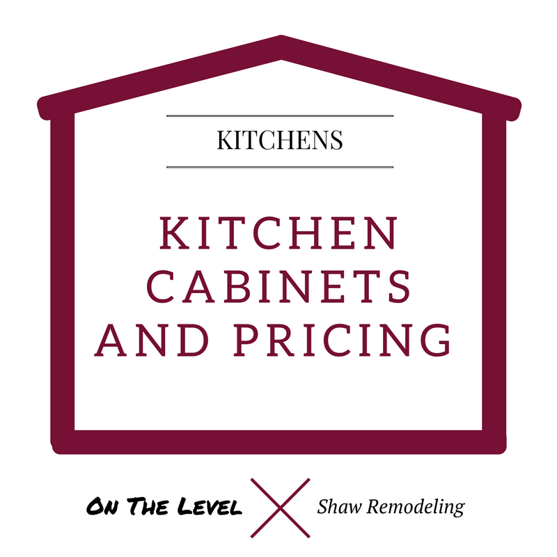 kitchen cabinet pricing bench for table home remodeling additions kitchens basements bathrooms and decks on the level house png