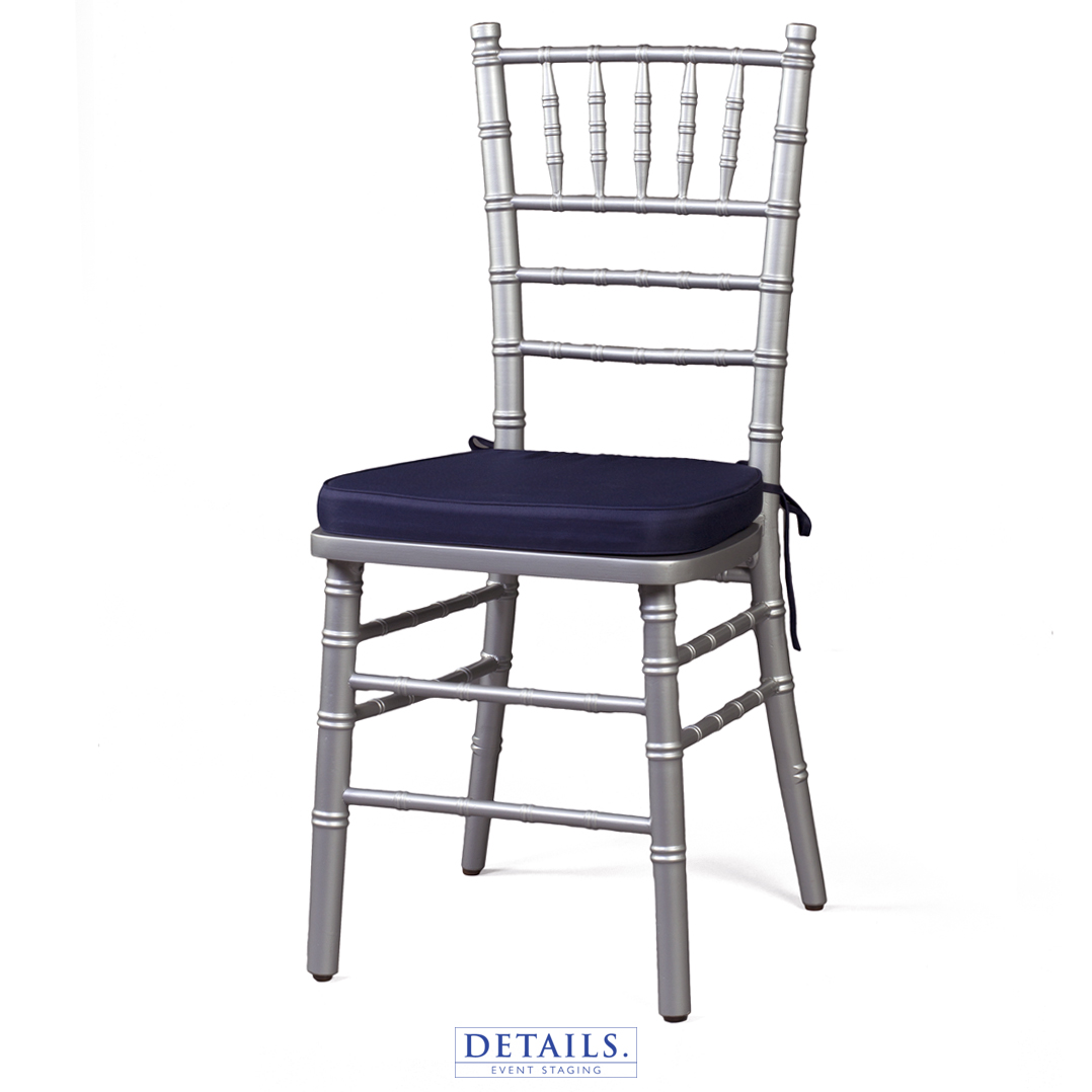 Silver Chiavari Chairs Premium Chair Seating Rentals Details Event Staging
