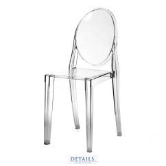 Ghost Chair Rental Grey Velvet Dining Chairs Premium Seating Rentals Details Event Staging Kartell Victoria Available With Ivory White Or Navy Nbsp Cushions