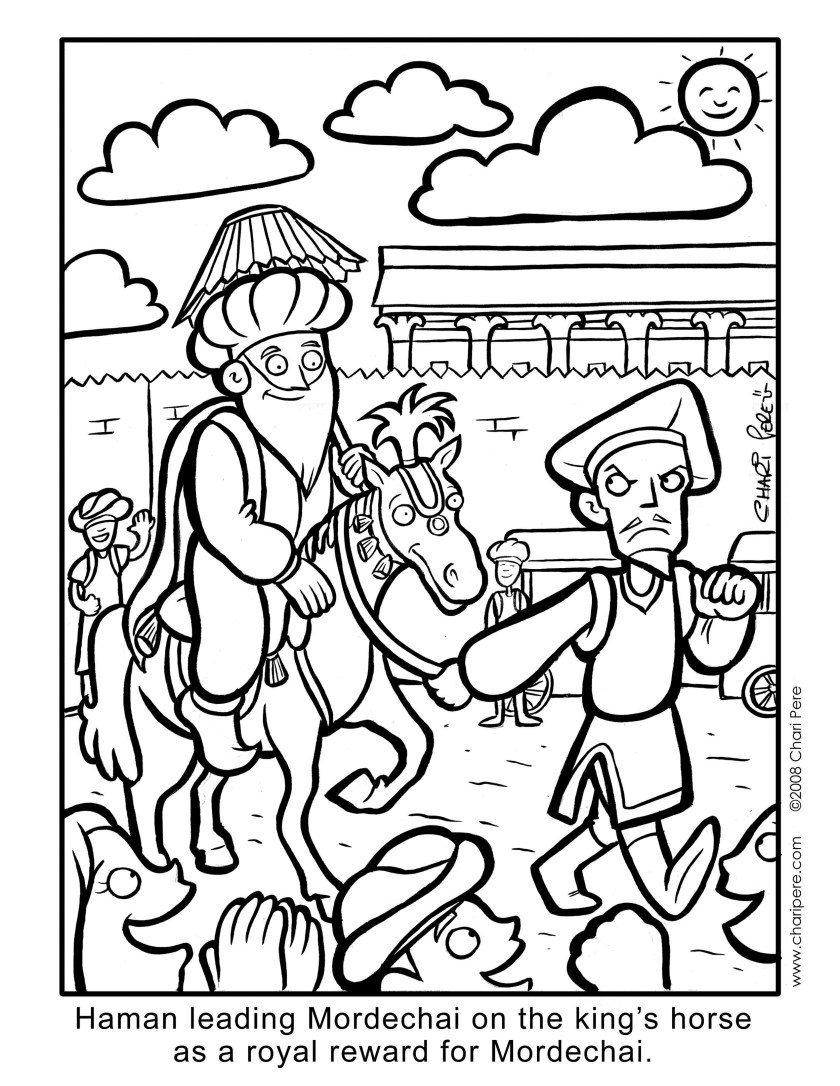 coloring pages — chari pere cartoonist