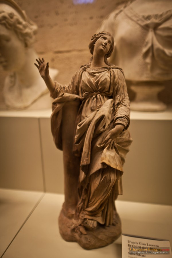 Sculpture From the Louvre