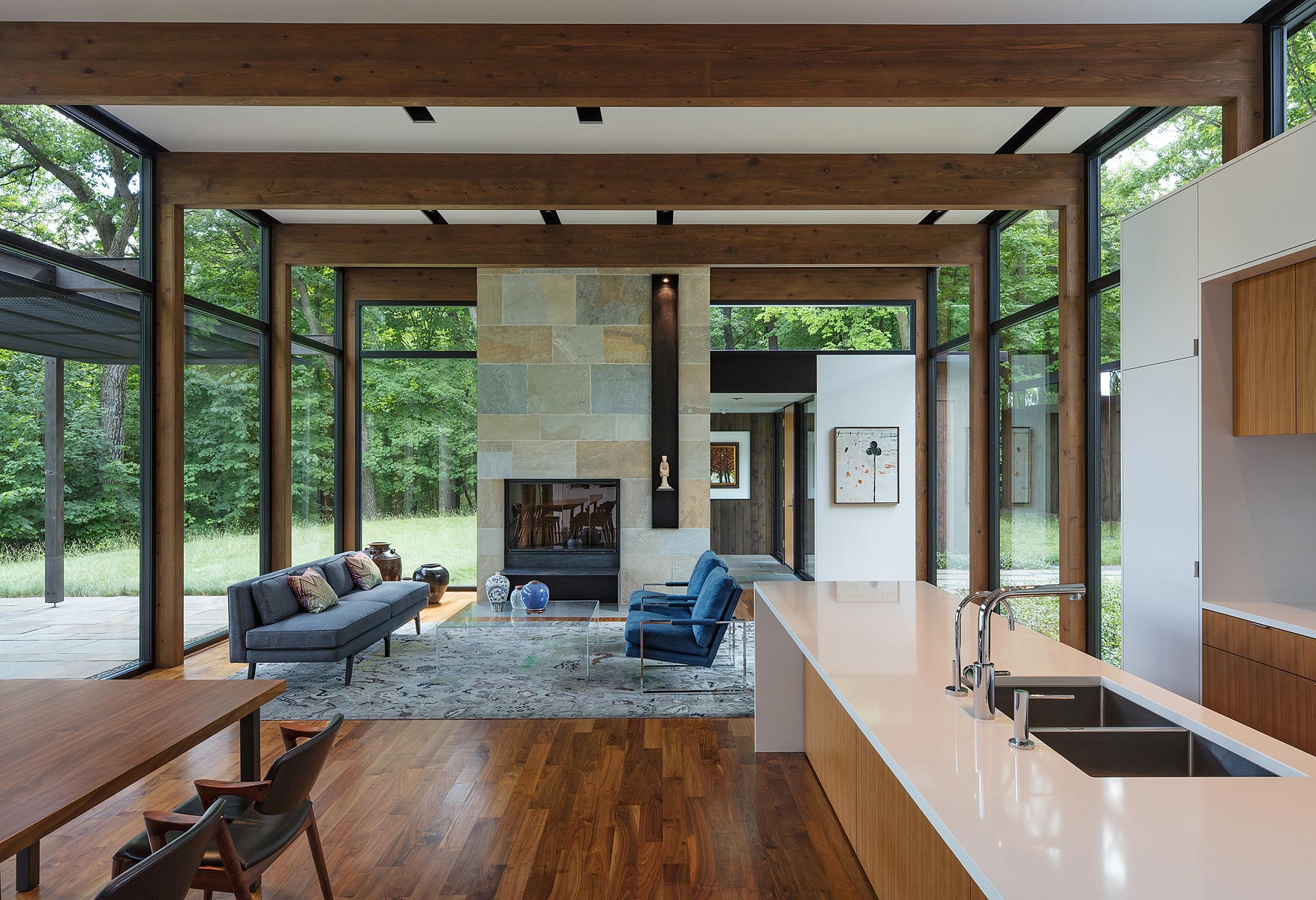 Woodland House  ALTUS Architecture  Design  A