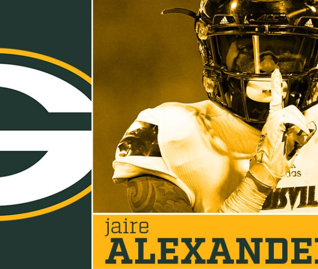Packers Trade Up Draft Cb Jaire Alexander In St Round
