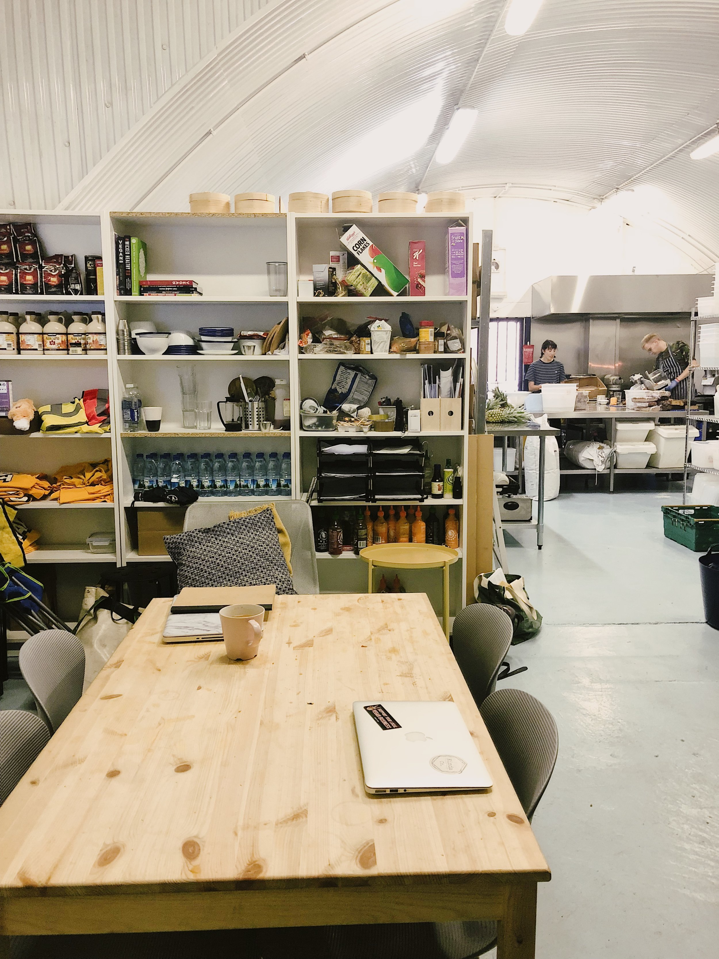 kitchen for rent pantry hire eat chay commercial vegan shoreditch spitafields hackney