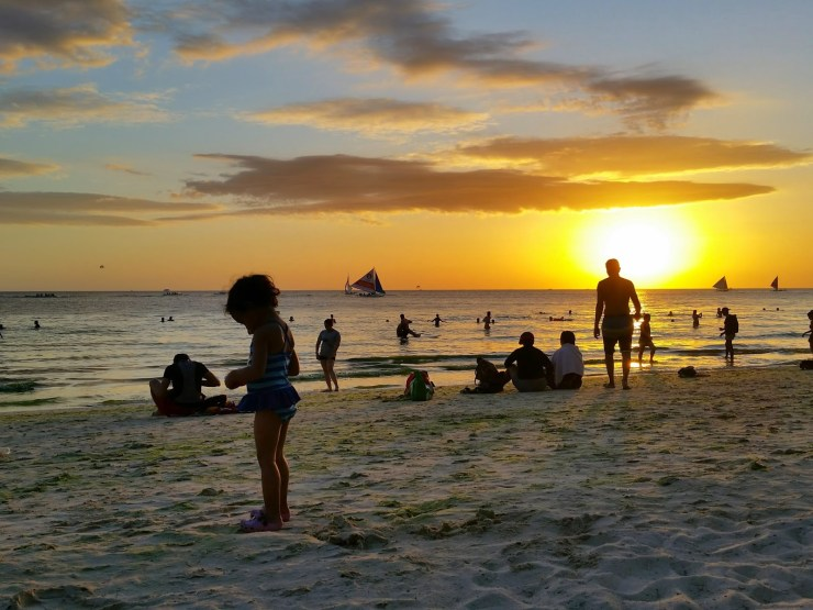 What to do in Boracay Day 1 Philippines toddler family trip tips
