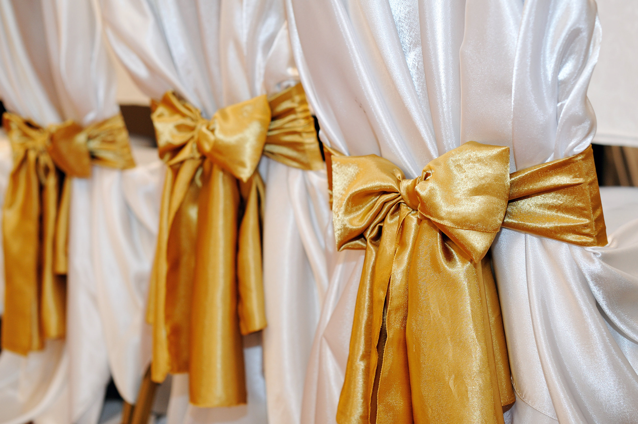 Yellow Chair Covers Chair Cover Hire Near Sydney North Shore