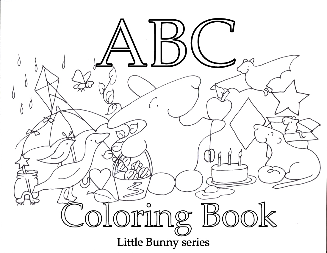 Coloring pages — Little Bunny series