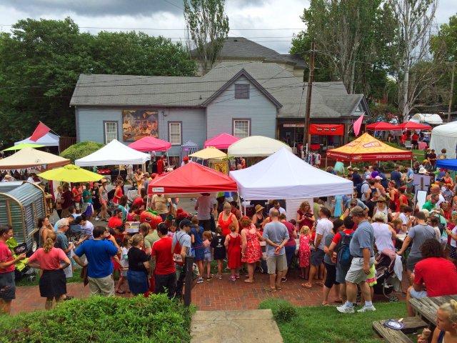 Tomato Festival, East Nashville