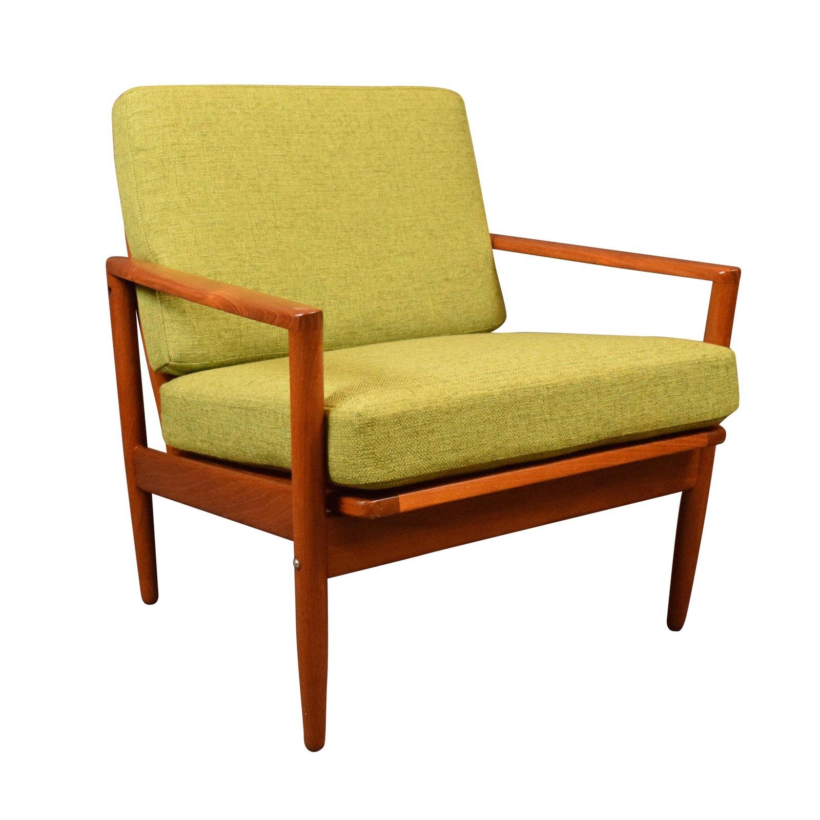 teak lounge chair used banquet covers wholesale vintage danish mid century modern aymerick