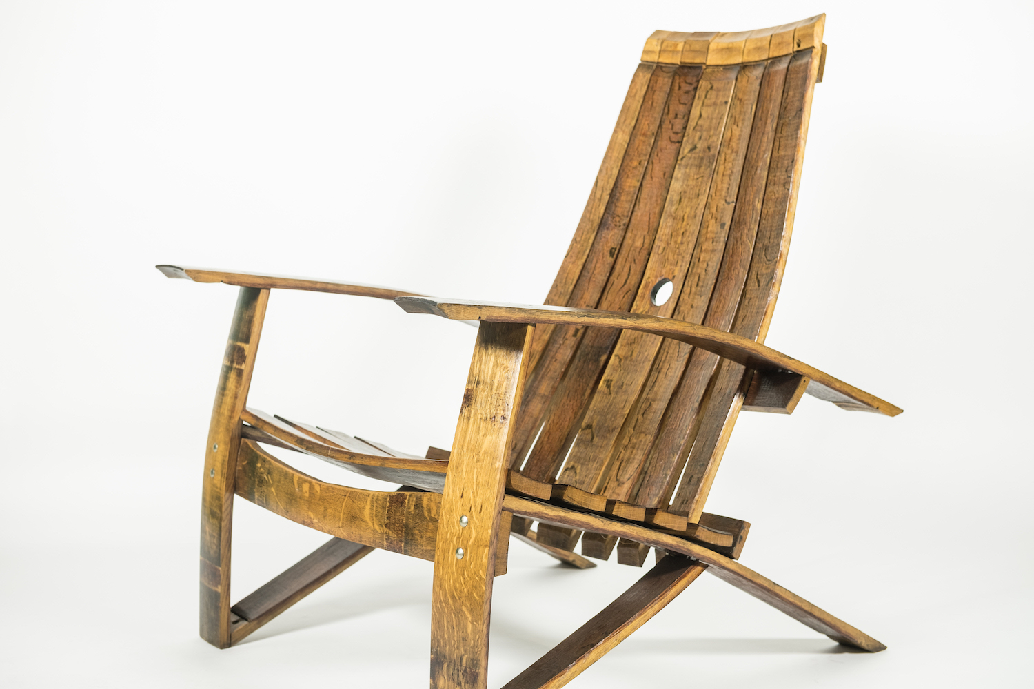 barrel stave adirondack chair plans wheel chairs for sale shea oak works wine