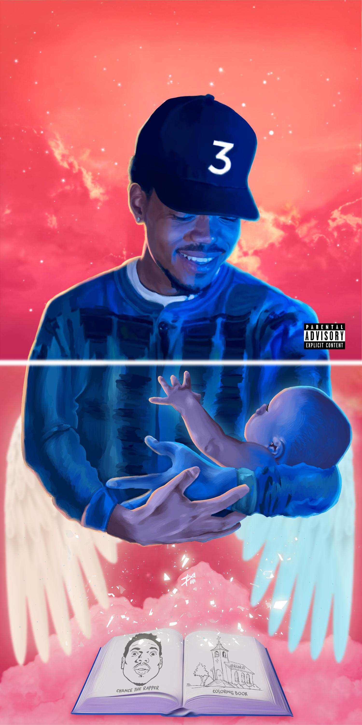 Download coloring book chance rapper mixtape -  Chance The Rapper Coloring Book Illustration By Brandon Breaux As With His Other Mixtapes Day And Acid Rap
