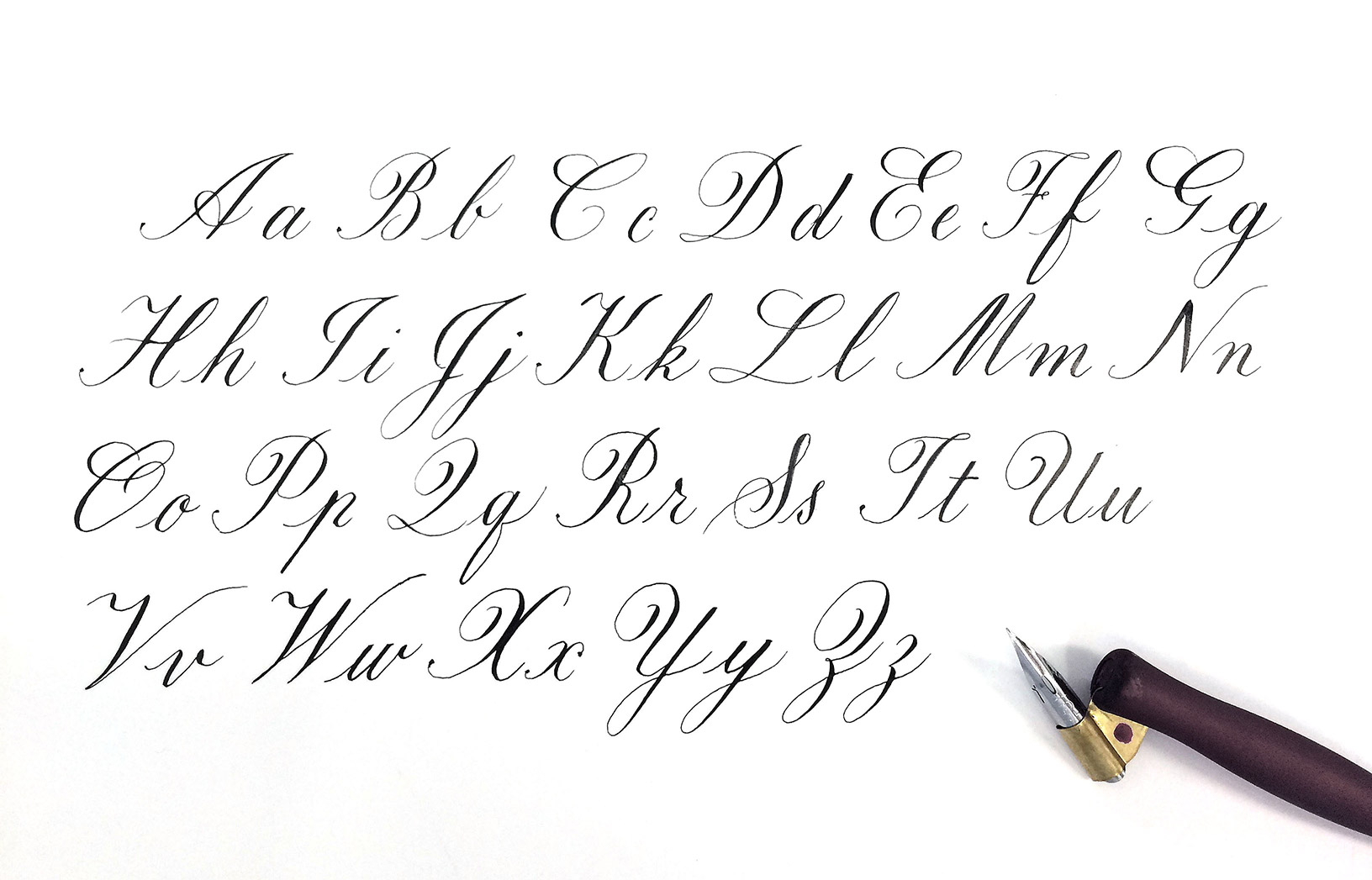 A quick history of Copperplate Calligraphy — Typerie