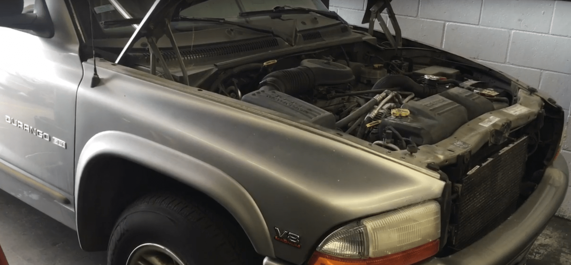 how to replace the radiator on a 1998 2003 dodge durango [ 1816 x 844 Pixel ]