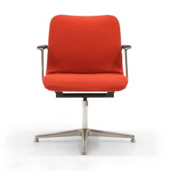 Office Chair Very Wedding Cover Hire County Durham George Nelson Desk Rare New Red Boucle Knoll Upholstery