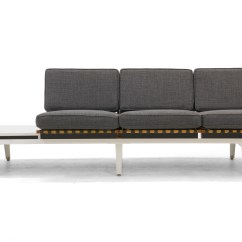 Steel Frame Sofa Wegner Ch163 Bench And Coffee Table By George Nelson For Herman Dsc07196 Copy Jpg