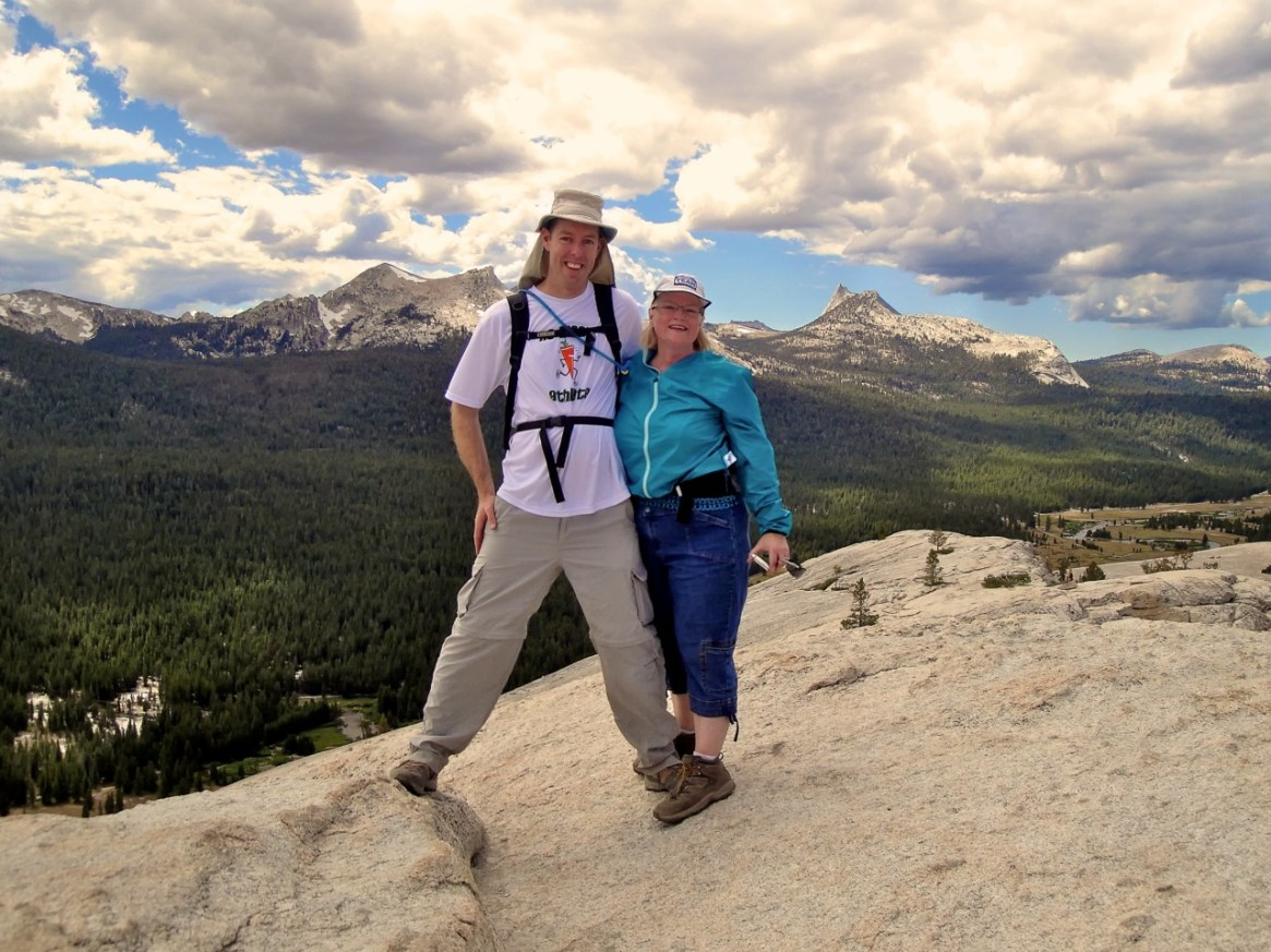 To kick off this blog, I thought I would start with this photo of my wife, Jill, and I on the summit of Lembert Dome. Yosemite is one of my favorite place in the world, and in this shot, I'm spending my time there with my favorite person in the world. What a better way to start.