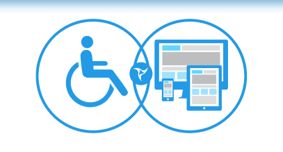 An image of accessibility signs