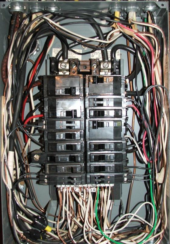 100 Load Center Wiring Diagram Schematic Service Panel Upgrades Tdr Electric