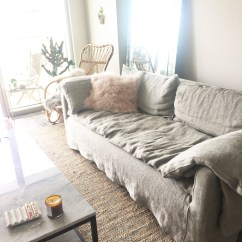 Cisco Brothers Sofa Reviews Sears Bed Sectional The Absolute Perfection Of Pillows Donato When I Saw Large Flat Ish That Folded Over Side Arms By Knew Had Found Just Right Mix