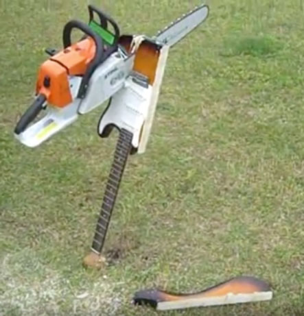 Chainsaw Invention Childbirth