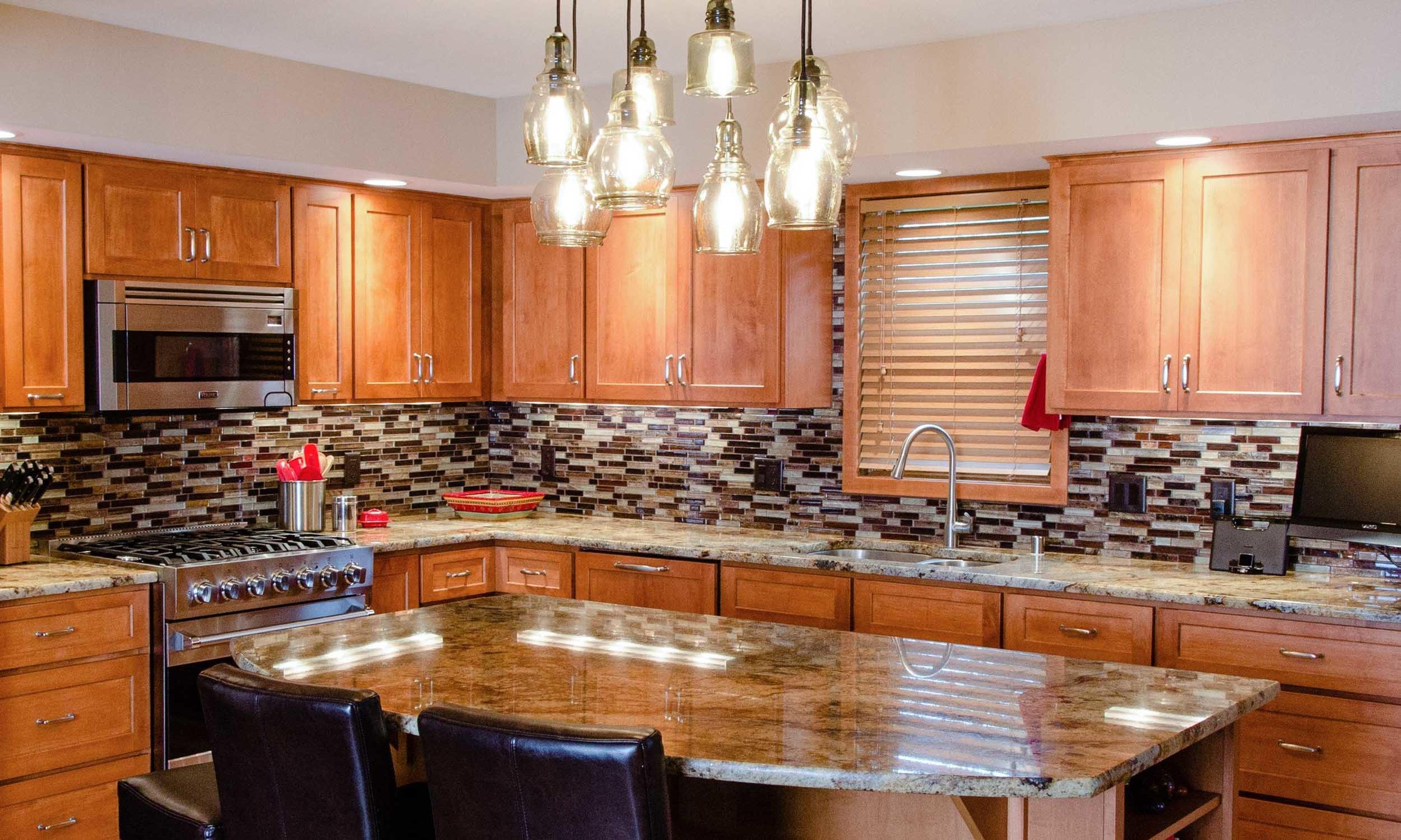 remodeled kitchen gray island traditional degnan design build remodel