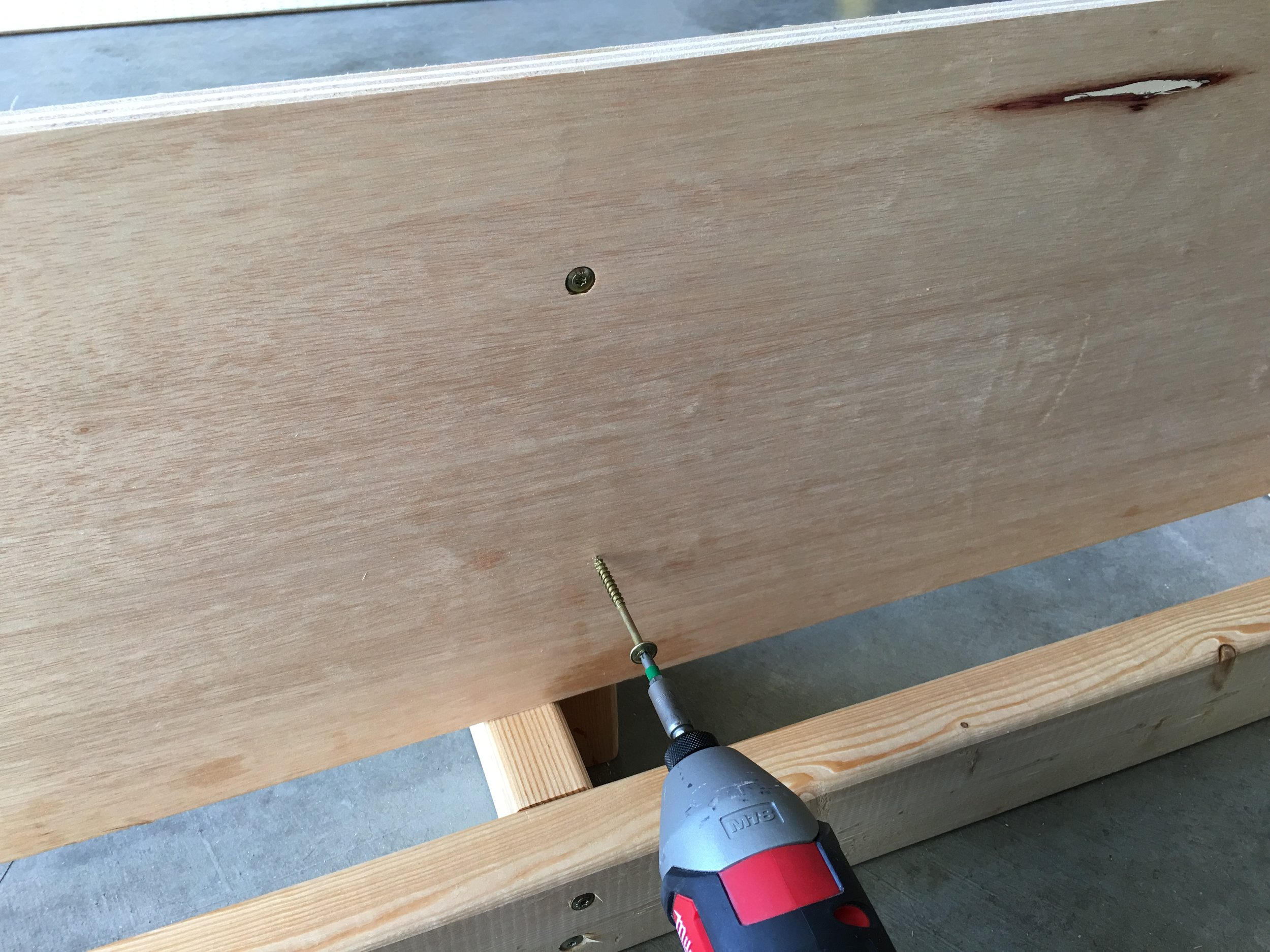 Plywood Screws 2 12 Inches