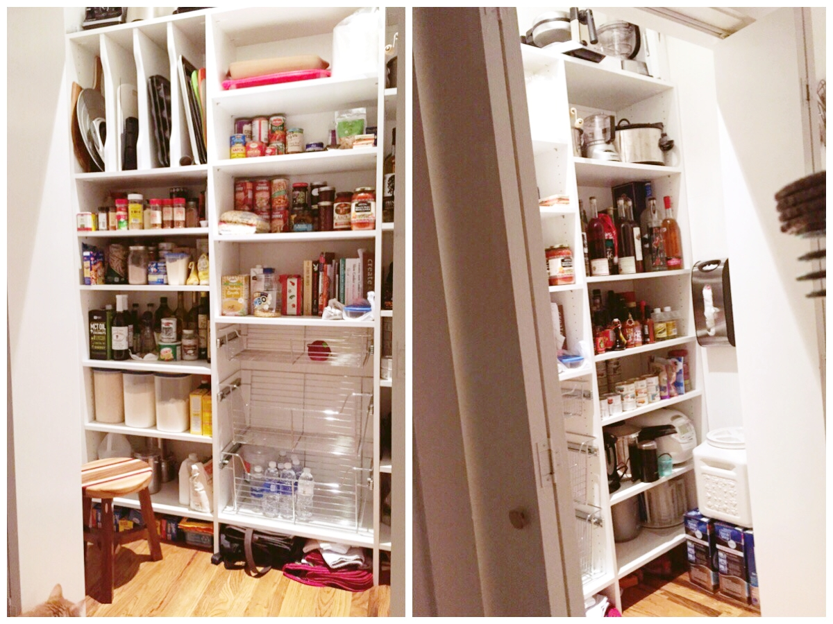 kitchen pantry storage island set planning for low stress holidays closets of tulsa converted this coat closet into a custom to improve in an