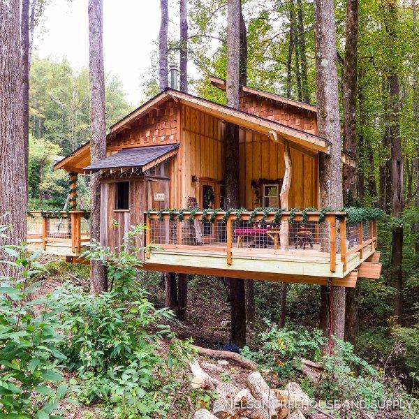 Treehouse North Carolina Christmas