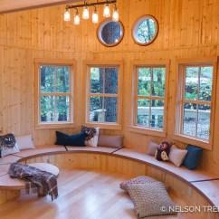 Exterior Rocking Chairs Best Ergonomic Desk 2018 Photo Tour: Owl's Nest Treehouse Library — Nelson