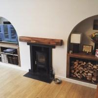 Oak Fireplace Beams | Oakfield, Horsham, West Sussex