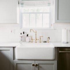 Subway Tiles In Kitchen Tall Cabinet Backsplash Alternatives To Standard White Tile Well Deboe Studio Farmhouse Sink