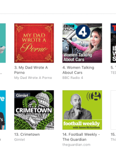 Thank you to everyone that   downloaded the show in last few months as unbelievably we ve made it top of itunes podcast charts uk also post they walk among us rh theywalkamonguspodcast
