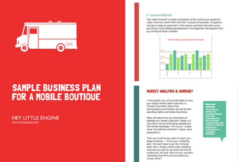 Fashion Truck Business Plan Template — Start or Grow a Mobile ...