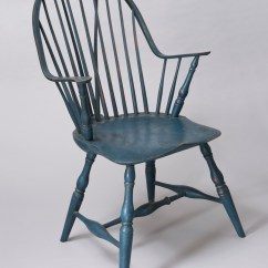Windsor Chair With Arms White Folding Covers For Sale Chairs David Douyard Chairmaker Continuous Arm