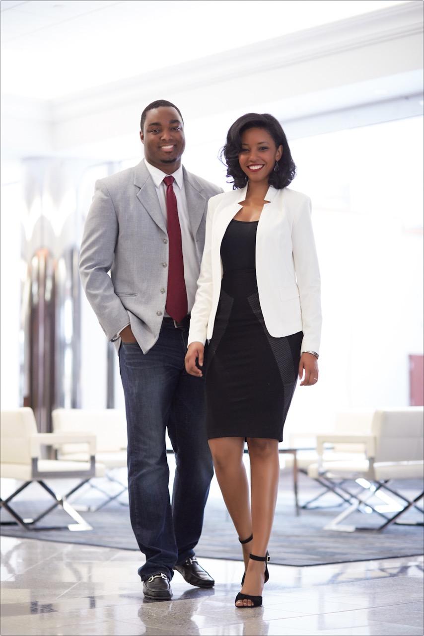 Co-founders James Jones and Kristina Jones