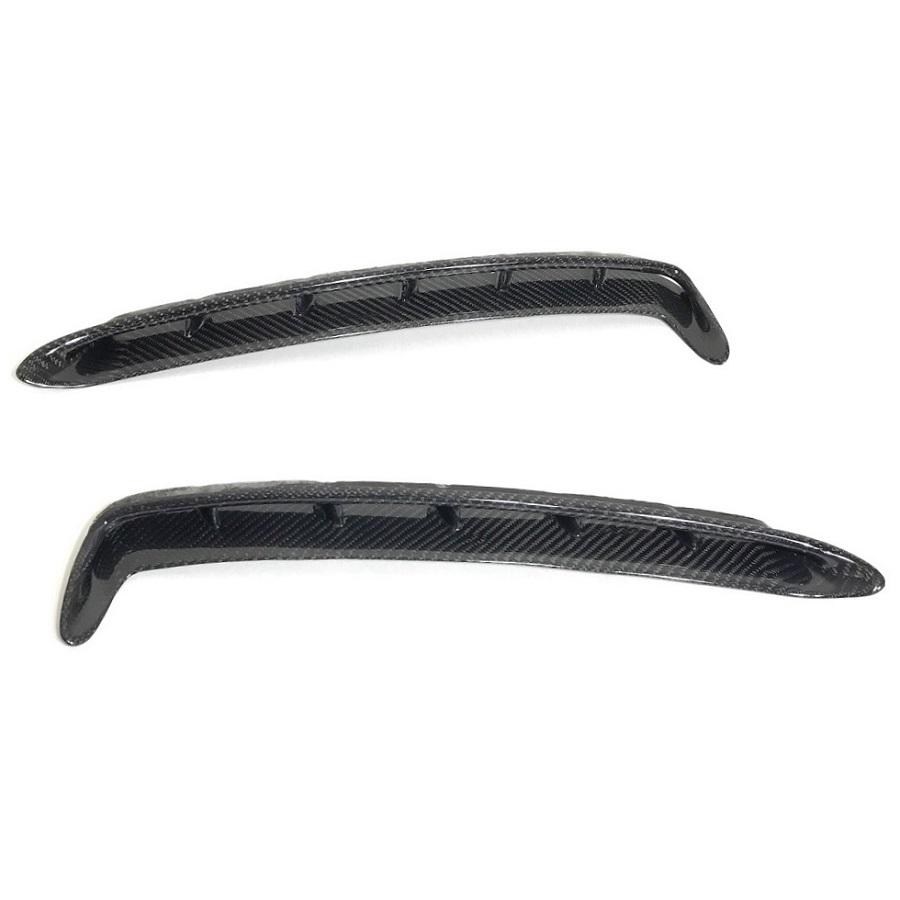medium resolution of carbon fiber front fender vents gt350