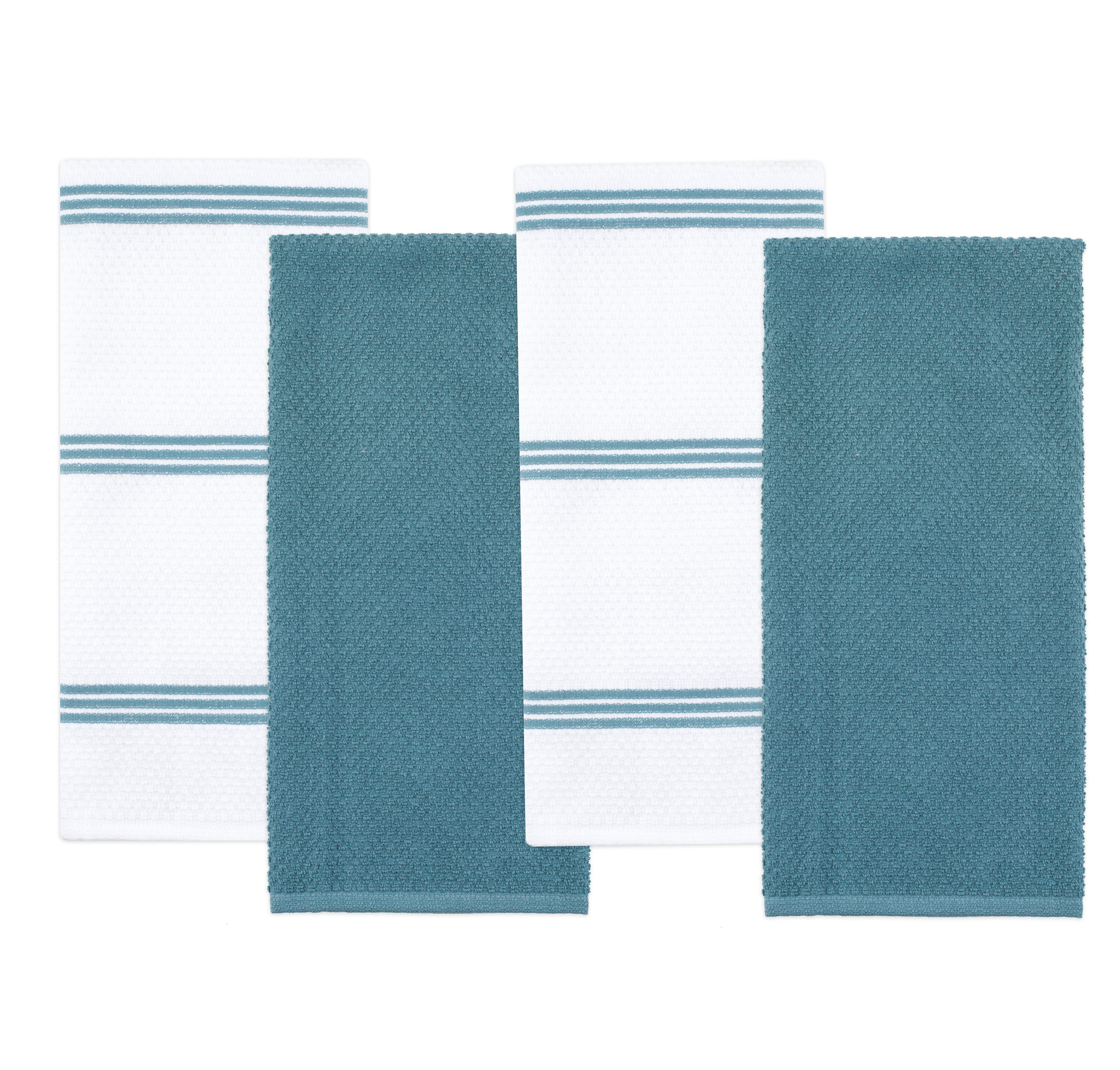 gray kitchen towels cabinet shelving sticky toffee textiles towel 4 pack blue g jpg