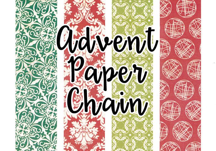 advent paper chain free