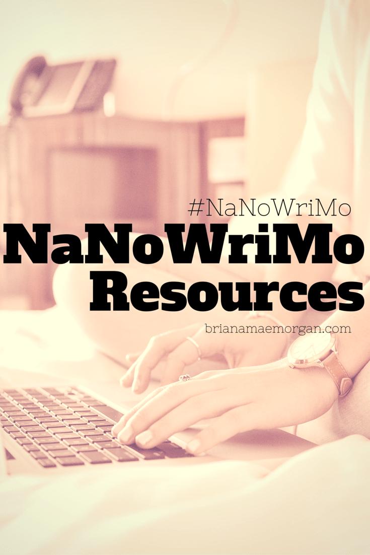NaNoWriMo Resources