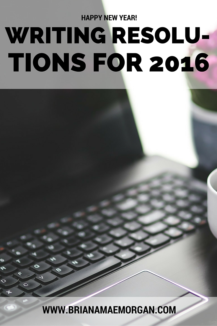 Writing Resolutions for 2016