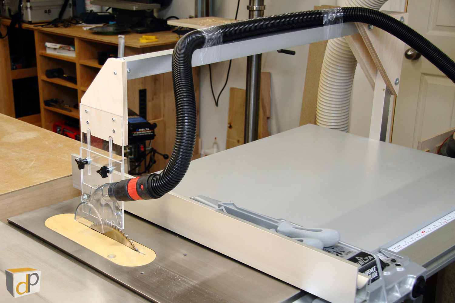 4 Table Saw Dust Collection Upgrades — Dan Pattison