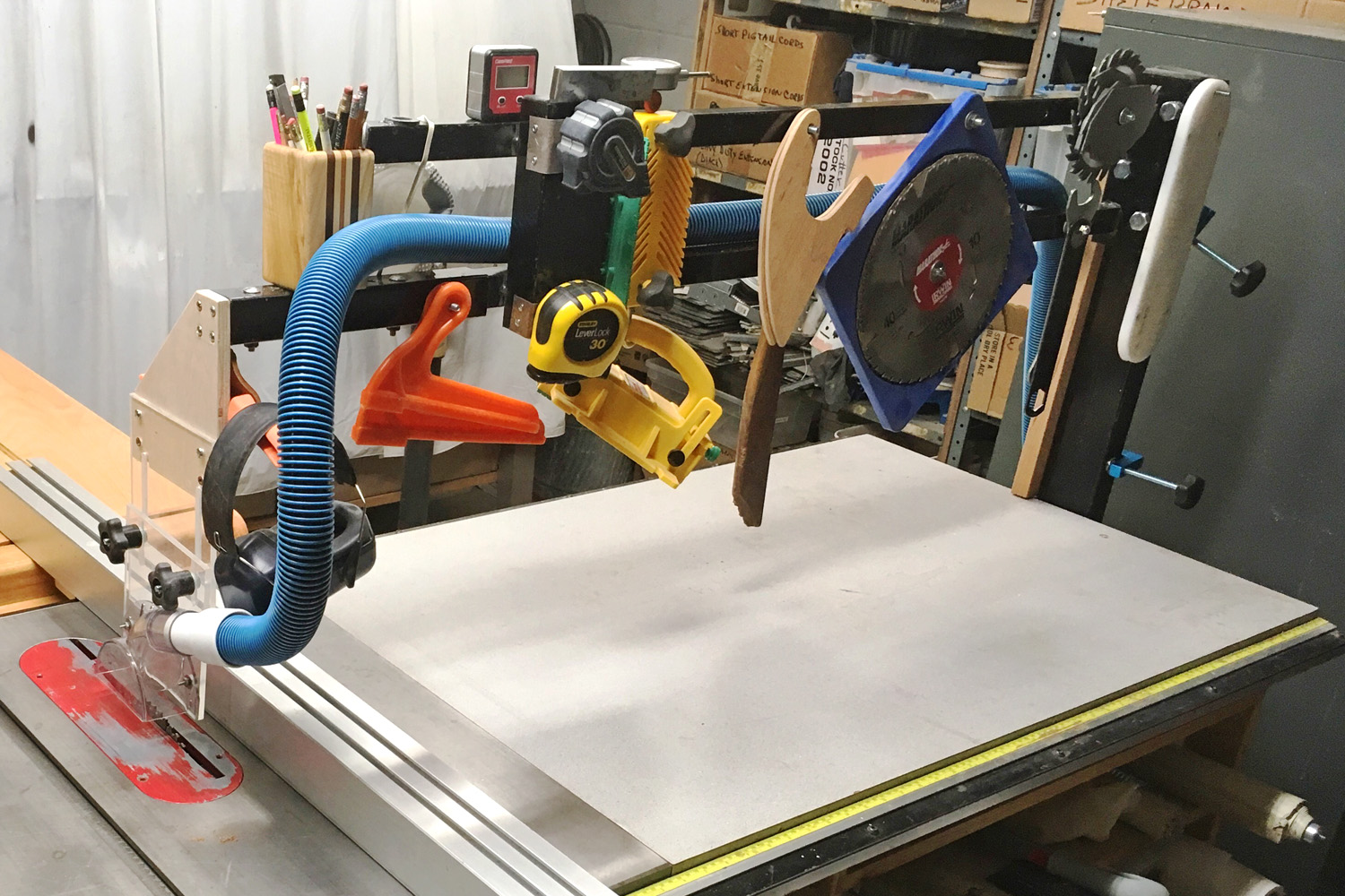 Table Saw Dust Hood Plans