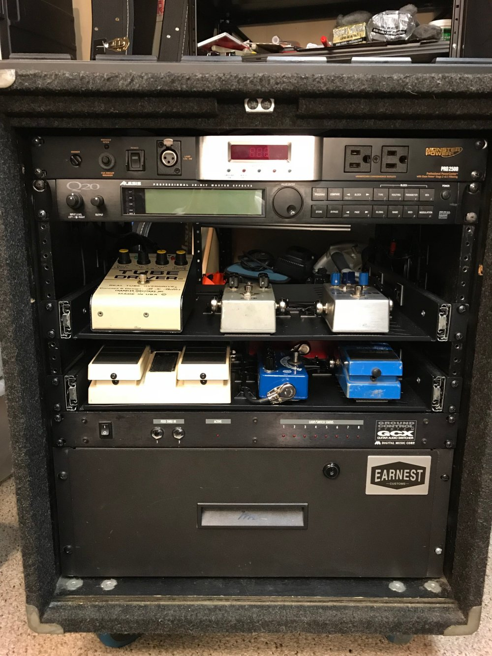 medium resolution of custom rack wiring front