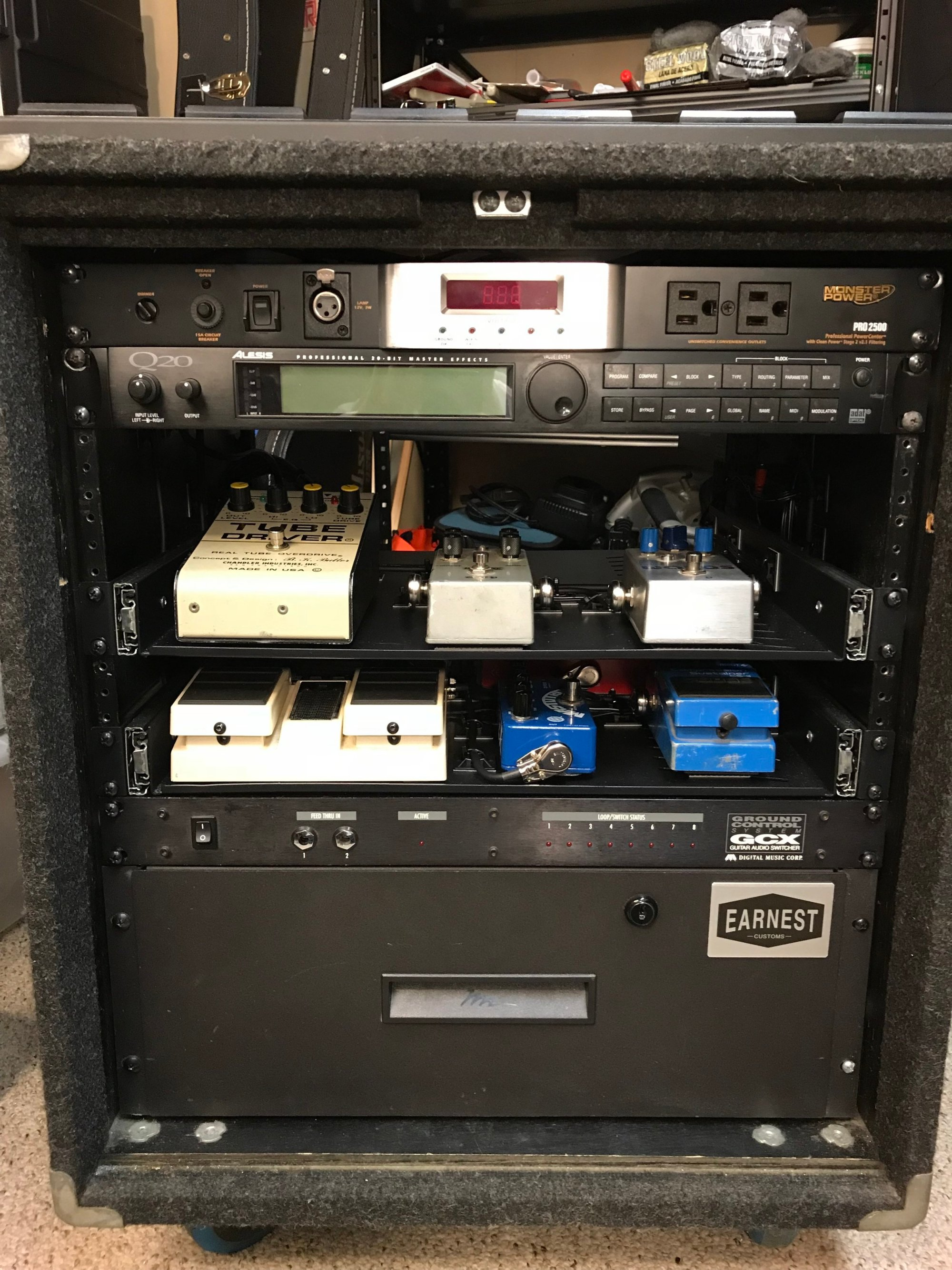 hight resolution of custom rack wiring front