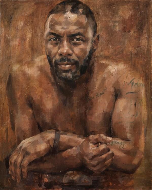 Jonathan Yeo Idris Elba