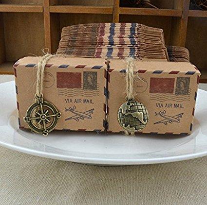 airmail design gift box