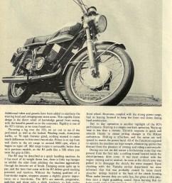 1970 yamaha r5 350 road test 03 jpg [ 1000 x 1313 Pixel ]